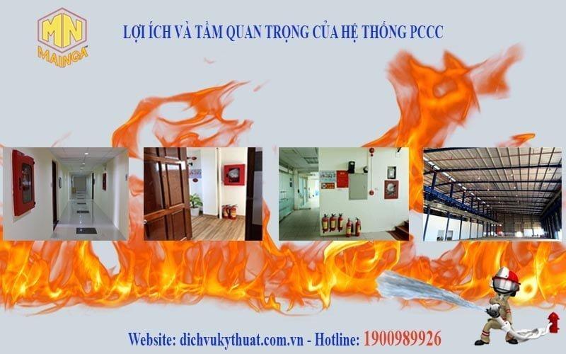 hệ thống phòng cháy chữa cháy (PCCC)